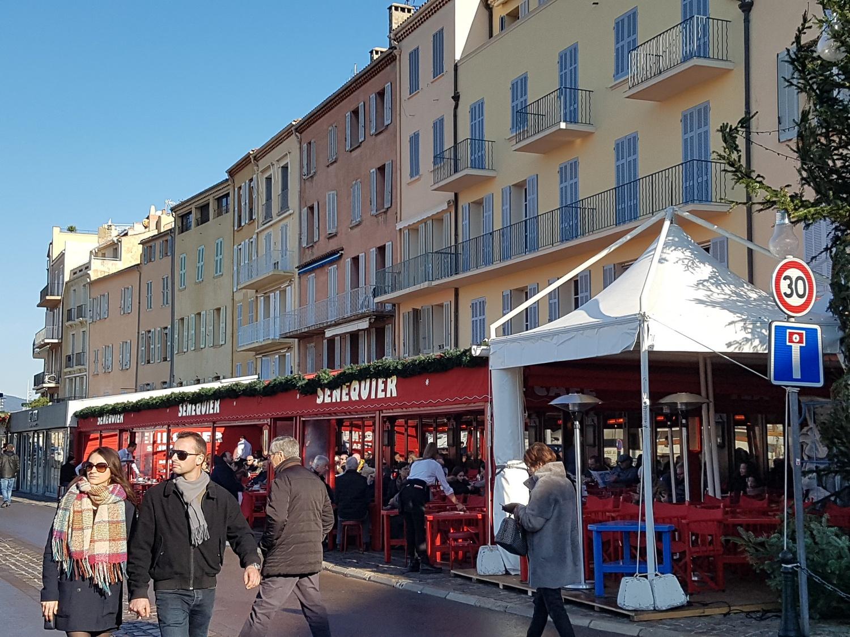Restaurant Senequier Saint Tropez