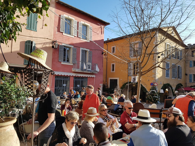 Restaurant Valbonne Cafe Des Arcades