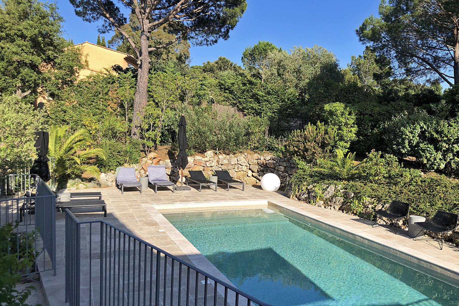 Villa La Croix Valmer Zuid Frankrijk met zwembad