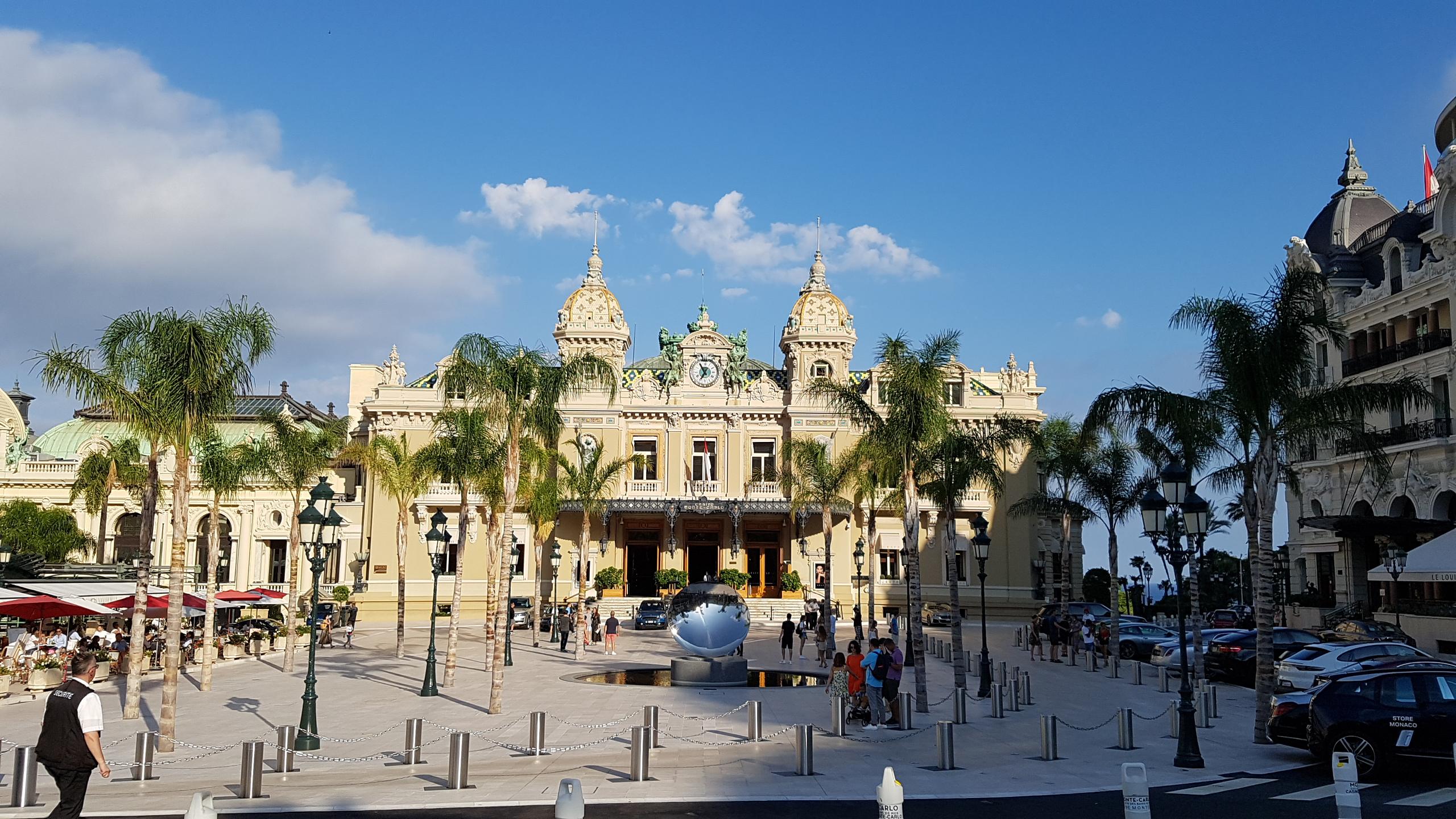 Place Du Casino In Monte Carlo