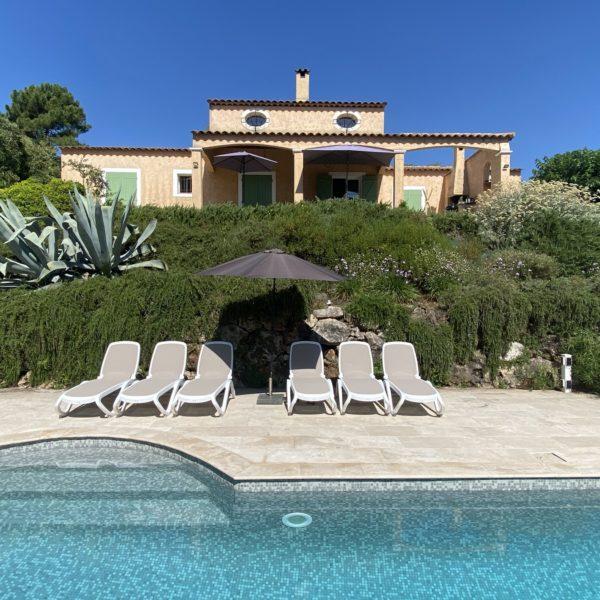Vakantiehuis Zuid Frankrijk Met Zwembad Valbonne Cote D'Azur