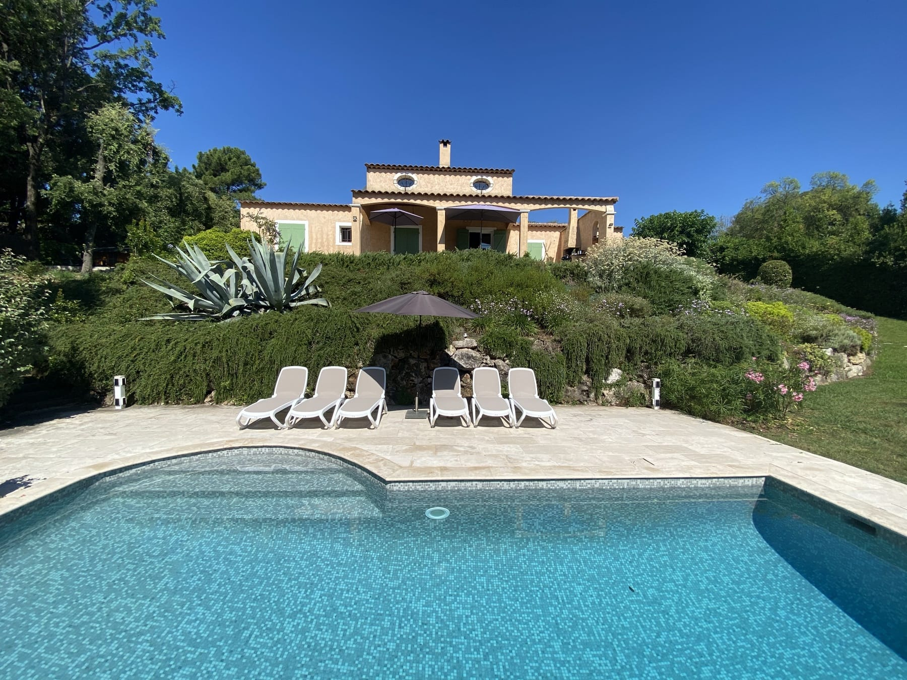 Holiday home with pool Cote d'Azur - Valbonne area Grasse, Antibes, Biot, Cannes