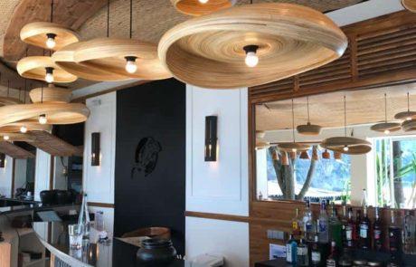 Eden Plage Cap D'Ail Beach Restaurant at Mala Plage