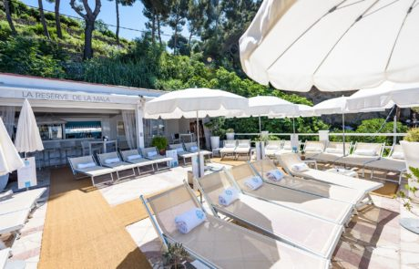 Mala Plage Cap D'Ail Beach Club & Restaurant La Reserve De La Mala