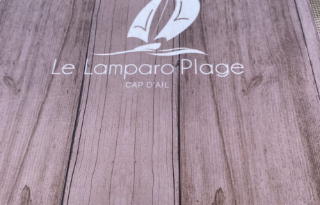 Restaurant Le Lamparo Plage Cap d'Ail