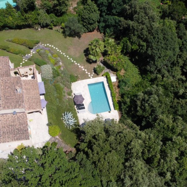 Holidayhome - Vacation rental Valbonne - Drone photos