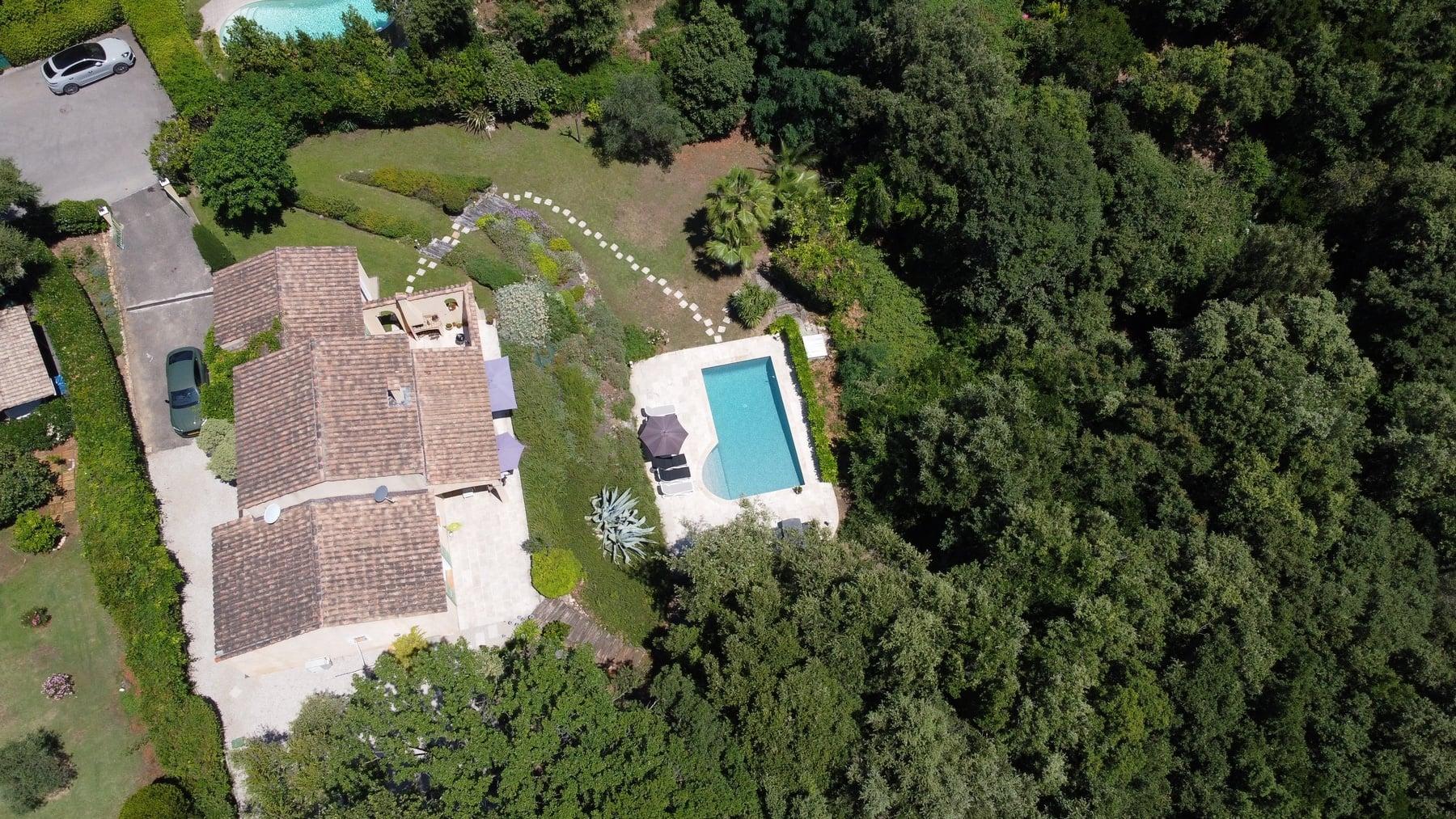 Holidayhome - Vacation rental Valbonne - Drone photos