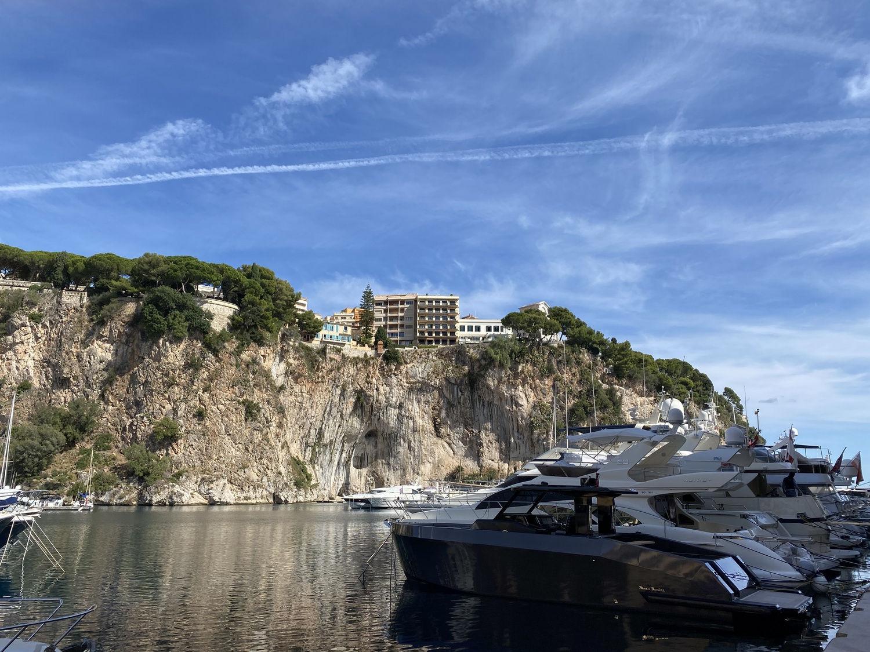 Hike Cap d'Ail To Monaco - Small harbor Monaco