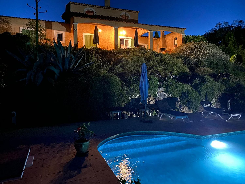 Villa Valbonne By Night