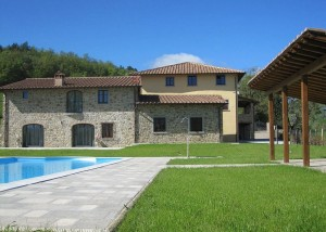 Vakantiehuizen Toscane - Borgo La Casa 2 villa's in Bibbiena bij Poppi