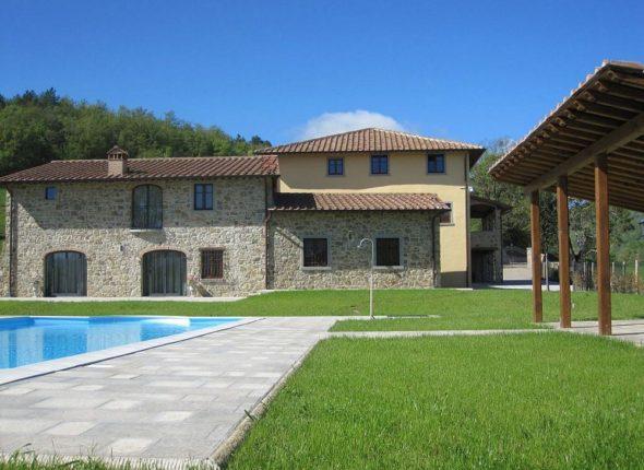 Tuscany - Borgo La Casa 2 holiday villas in Bibbiena near Poppi