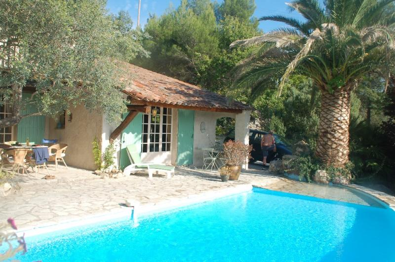 Villa Montchou - holiday home Fayence with private pool and guesthouse